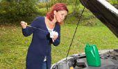 Jeter de l'huile de moteur chez le concessionnaire - de sorte que vous vous débarrasser de l'huile usée