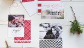 Invitation de Noël 2014: Idées Parti artisanat bricolage et options en ligne pour vos vacances Invitez