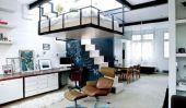 Ingénieux Appartement: Creative Solutions gain de place