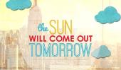 Annie film saute dans les médias sociaux - Le soleil sortira demain