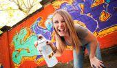 Lettres Graffiti peinture apprendre - comment cela fonctionne: