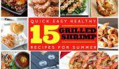 15 magnifiques Recettes de crevettes grillées