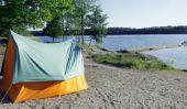 Tentes en Suède - Qu'est-ce que vous devriez considérer lors de camping