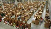 À l'intérieur de l'entrepôt de Amazona € ™