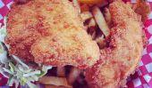 Panko-croûte Fish & Chips