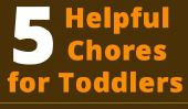 5 Corvée utiles que les bambins peuvent faire