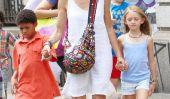 Single Mom Heidi Klum est de sortie avec ses enfants (Photos)
