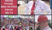 Le Feel-Good Flash mob de l'été Début 2013: les enfants disent au revoir à leurs principaux