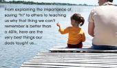 De 30 leçons sur la vie et l'amour que nous avons appris de nos pères