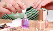 Peindre les ongles correctement - si ce sera comme la manucure