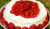 Gâteau au chocolat Irrésistible Avec fraises fraîches Remplissage