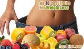 Top 10 des meilleurs fruits pour perdre du poids