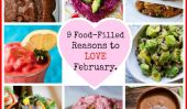 Raisons d'aimer Février 9 alimentaire postuler!