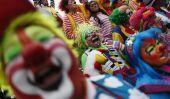 «Clowns Killer 'mexicains et nous donner Clowns un mauvais nom Pendant la Convention internationale Clown