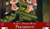 Si les 7 nains étiez président: Qualités présidentielles de copains de Blanche Neige