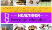 Que manger quand vous avez envie d'un Girl Scout Cookie: 8 sain maison Alternatives