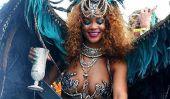 Rihanna, Formula One Race Car pilote Lewis Hamilton Juste pour le plaisir à la Barbade: sont-ils un article?
