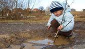 Le temps pluvieux - ce qu'il faut faire avec les enfants?
