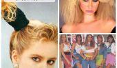 25 Fashion erreurs de notre jeunesse: hauts courts, à sertir, et Chouchous