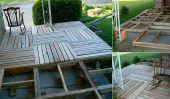 Palettes en bois Front Porch bricolage