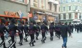 Garde la musique de danse - apparence si bien réussi à le carnaval