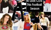 NFL Chic!  25 façons de l'air mignon Cette saison de football