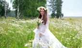 Lier couronnes de lierre et de fleurs correctement
