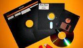 Éliminez les anciens disques - il est donc d'une manière respectueuse de l'environnement