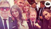 Elton John et David Furnish célèbrent mariage avec des invités célèbres.  Dans la vidéo!
