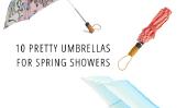 10 jolies Parapluies pour le printemps Douches