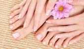 Pour obtenir de beaux pieds pour l'été