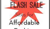Meilleurs sites flash de la vente pour le mode à prix abordable