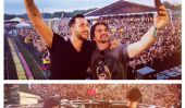 Sunset EDM Music Festival 2015: Juanes, DJ Cedric Gervais & Hulk Hogan Entertain 30.000 fans