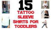 15 Tattoo Shirts à manches pour les tout-petits Rad