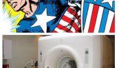 Marvel Comics & Radiologue équipe pour aider les enfants à Canal Superhero intérieure et le combat Peur de l'IRM avec l'aide de Captain America