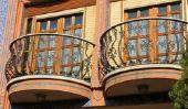 Rampes de balcon et de conception - des idées novatrices en acier inoxydable