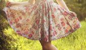 Porter robe comme la DSDS-Star - Fabienne Rothe