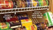 8 façons de Genius pour stocker les marchandises en conserve et épices