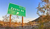 Une ville nommée «Zzyzx 'en Californie