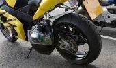 Changement d'huile lorsque la moto - Manuel