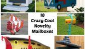 Il y a un courrier pour vous!  18 boîtes aux lettres Nouveauté Crazy Cool