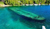 Épaves de Big Tub Harbour dans le lac Huron