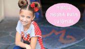 Minnie Mouse Buns Tutorial - Mon Disney Side