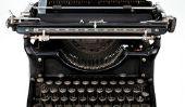 Vieille machine à écrire - si vous les utilisez
