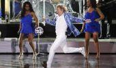 Rod Stewart poursuivi pour blessures causées par ballon de soccer à concert de Las Vegas