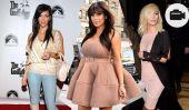 Kim Kardashian pour la saison Démarrer L'Incroyable Famille Kardashian