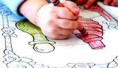 Faire colorer les enfants avec les murs eux-mêmes - comment cela fonctionne: