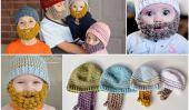 DIY Crochet Bobble Barbe - Patrons gratuits