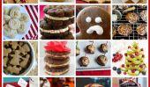 Parade de Vegan biscuits de Noël: 25 Recettes!