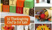 16 Fun Artisanat Thanksgiving pour les enfants